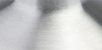 Stahl geschliffen