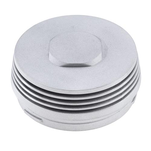 Aluminiumgussteil glaskugelgestrahlt
