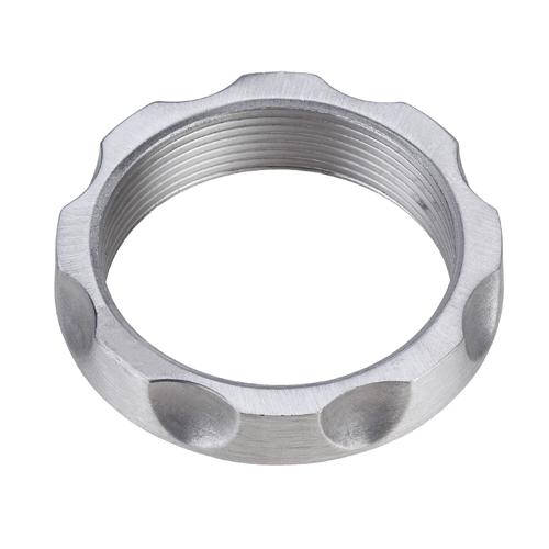 Gewindemutter Aluminiumguss geschliffen